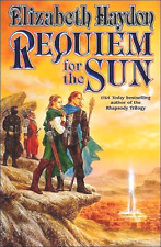 ELIZABETH HAYDON REQUIEM FOR THE SUN BOOK 4 SYMPHONY OF AGES 2002 HCDJ 1ST NEW