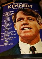 Robert Francis Kennedy Memorial Issue Collector's Edition 1968.  68 pages