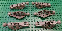 Used 6x Lego Bionicle Rahkshi Leg Lower Sections45749 Dark Gray Good Condition