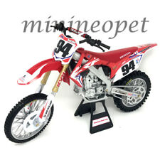 NEW RAY 57923 TEAM HONDA HRC CRF 450R DIRT BIKE MOTORCYCLE 1/12 KEN ROCZEN #94