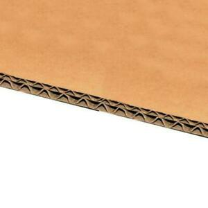 Double Wall Corrugated Cardboard Sheet 8mm Thick (Pack of 20 Sheets)