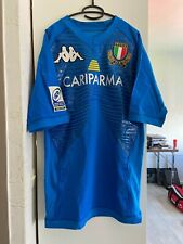 Maglia Shirt Maillot Italia Match Issued IRB Junior World Rugby Trophy 2010 N°17