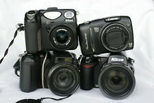 Nikon Coolpix E8800 & Coolpix 5000 & Fuji S7000 & Canon PowerShot SX110 IS PARTS