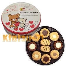 Rilakkuma design can Assorted Cookie 60 pcs Snack Candy Japanese Bourbon