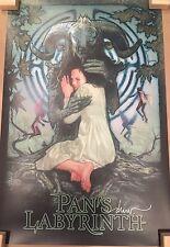 Drew Struzan Pan's Labyrinth SIGNED Screen Print Poster Mondo Artist