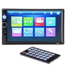 7 Inch 2 Din Stereo Car MP5 Player Bluetooth Touch Screen Radio FM USB AUX +