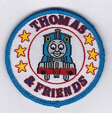 """Thomas the Train Tank Engine round patches 2"""" Embroidered Sew On Patch"""