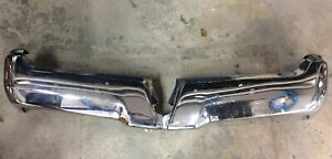 2017 2018 2019  Ford F-250 Super Duty   Rear  Step Bumpers OEM