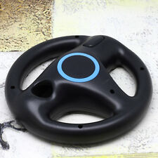 Fashion Steering Wheel Remote Controller For Nintendo Wii Black ABS Cool