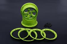 NYLON wheel hub rim kit green for 1/5 scale Losi 5IVE-T ROVAN LT KING MOTOR X2