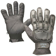 New Valken V-Tac Tactical Airsoft Full Finger Plastic Padded Gloves Small Black