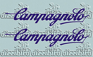 CAMPAGNOLO DECALS VARIOUS COLOURS