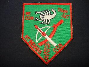 "Vietnam War Patch RT INDIANA CCN ""THAM SAT"" 5th SFGrp MACV-SOG Team"