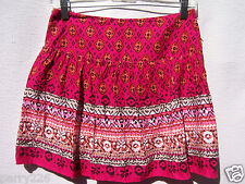 Speechless Girls Plaid Pink Orange Brown Skort Skirt Shorts NWOT Size Medium