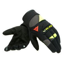 Dainese VR46 Curb Short Gloves Motorradhandschuhe  Gr. M Schwarz Gelb