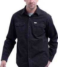 Eddie Bauer Mens Shirt Crosscut Cord Comfortable Layering Piece Charcoal XXL