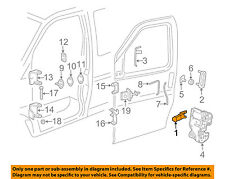 GM OEM-Interior Inside Door Handle Left 23136342
