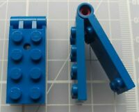 Classic Space 6927 6980 LEGO 1x Lot 1x4 Trans-Dark Blue Without Bottom Tube