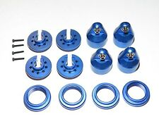 YY-XMAXX TRAXXAS X-MAXX ALUMINUM SHOCK UPGRADE PARTS BLUE
