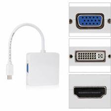 Thunderbolt Mini DisplayPort to DVI VGA HDMI Adapter For Apple Macbook Air Pro