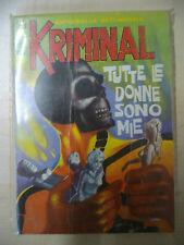 KRIMINAL FUMETTO NOIR N. 39 EDITORIALE CORNO 1966 - FUM0