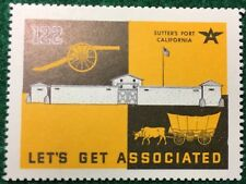 #122 - Sutter's Fort California - Let's Get Associated, Flying A Gas & Oil Co.