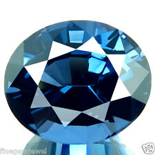 6.41ct FLAWLESS HUGE NATURAL UNHEATED 5A+ COBALT BLUE COLOR SPINEL AWESOME GEM!
