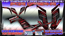 Yamaha Raptor Banshee 250/350/660/700 calcomanías de gráficos YFZ450 YFZ450R