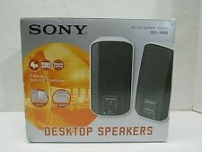 Sony SRS-A202 Computer Speakers Mega Bass Active Speaker System