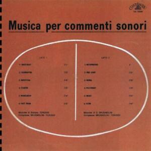 Stefano Torossi / Sandro Brugnolini - Musica Per Commenti Sonori