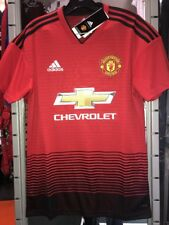 Adidas Manchester United 2018/19 Stadium Home Soccer Jersey Size XL