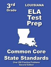 Louisiana 3rd Grade ELA Test Prep by Teachers Treasures (2013, Paperback)