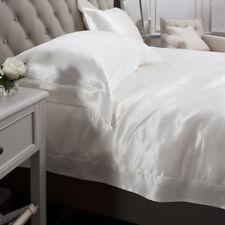 Jasmine Silk 3PCs 100% Charmeuse Silk Duvet Cover Set (IVORY) SINGLE
