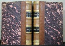 J.J. Engel: Der Philosoph für die Welt 2 Bände 1801 Halblederbände