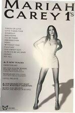 "BRAND NEW ORIGINAL POSTER Mariah Carey 1s (30"" x 20"")"