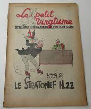 TINTIN HERGE LE PETIT VINGTIEME NO 13 1938 BON ETAT