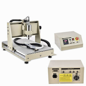 1.5KW 3Axis 6040 CNC Router Engraver Engraving Mill Machine Metal Working Cutter