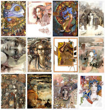 LOT DE 12 CARTES POSTALES DE COLLECTION - FLEURANTIN DIDIER - ART NOUVEAU