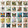 """18"""" Ink Painting Butterfly Pillow Case Pillow Cover Sofa Cushion Cover Home Dec"""
