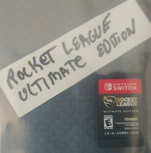 SWITCH GAME CARTRIDGE ONLY ROCKET LEAGUE ULTIMATE EDITION