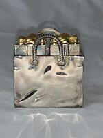 Vintage Godinger Silver Art Co. Wrapped Presents Salt & Pepper Shakers Christmas