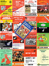More details for 1983 british lions tour of new zealand rugby programmes