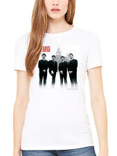 Official The Beatles In Liverpool Women's T-Shirt Lennon McCartney Ringo