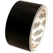 Tape Planet 3 mil 2 inch x 10 yards Black Matte Outdoor Vinyl Tape