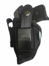 Pro-Tech Intimidator Gun holster with Mag Pouch Fits Keltec P32 OWB Nylon WSB-1