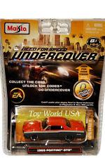 Maisto NEED FOR SPEED UNDERCOVER 1965 Pontiac GTO
