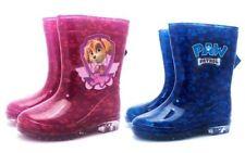 Scarpe Stivali di gomma rosa per bambini dai 2 ai 16 anni