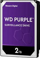 """Western Digital Purple WD20PURZ Surveillance 2TB SATA III 3.5"""" Hard Drive, 64MB"""