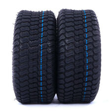 New TIRES Tubeless 15x6.00-6 Turf Tires Lawn Mower Tractor 4 Ply(2PCS)