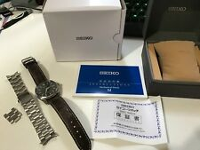 SEIKO SARB033 MECHANICAL Automatic Men's Watch Mint + Leather strap